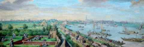 Amsteldijk even buiten Amsterdam -1589