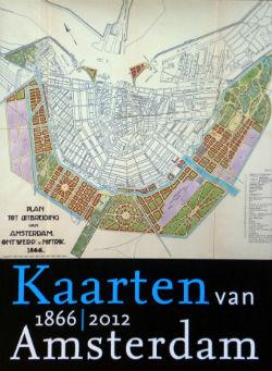 Kaarten van Amsterdam 1866-2012