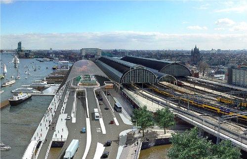 Vernieuwing Centraal Station aan de IJzijde
