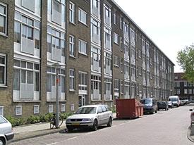 Straat in 'Landlust'