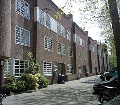 Amsterdam-Zuid, woningen Michel de Klerk