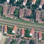 Open bebouwing, schuine plaatsing, Burgemeester Roëllstraat, Slotermeer.